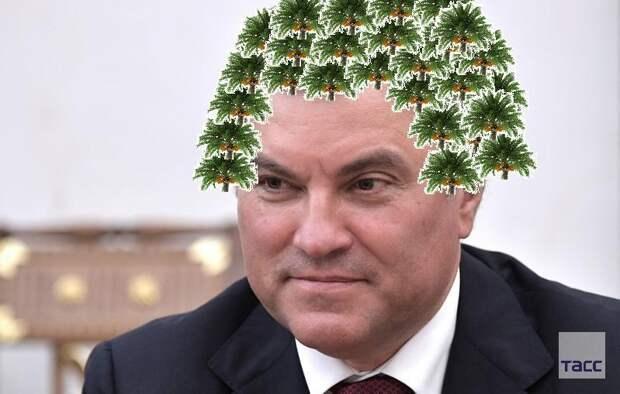 Володин против пальмового масла и аграрной политики Путина? А не врет?