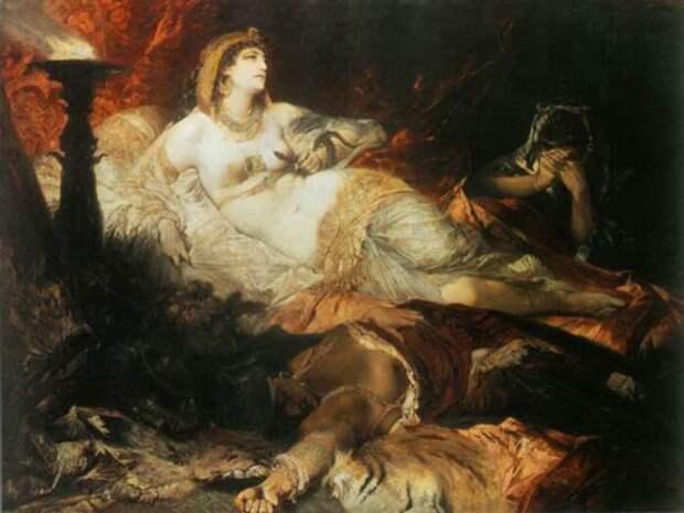 Почему Клеопатра стала женой сразу двух своих братьев и другие незаурядные факты о царице Египта (6 фото)