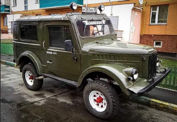 Американцы были удивлены, увидев российский внедорожник ГАЗ-69