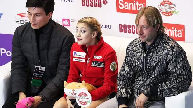 Плющенко объявил о возвращении Косторной к Тутберидзе: «Отпускаем с кристально-хрустальной совестью»