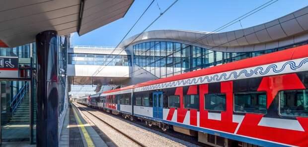 На МЦД-2 в районе «Каланчевской» изменится схема движения поездов