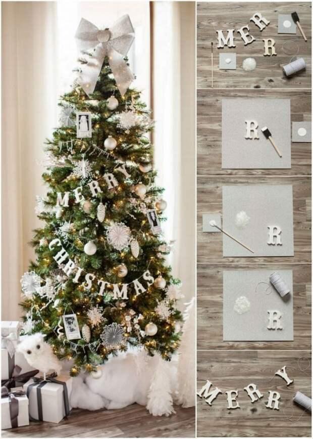 Идея рождественской гирлянды