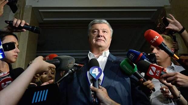 Суд в Киеве обязал СБУ расследовать дело о захвате власти Порошенко
