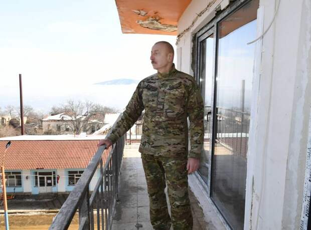 Алиев рассказал об ответе России на вопрос об обнаруженных фрагментах ракеты «Искандер-М» в Карабахе
