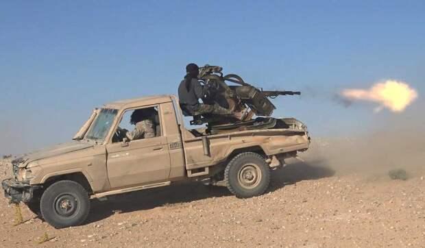 Террористы ИГ атаковали армию Сирии к северу от Пальмиры