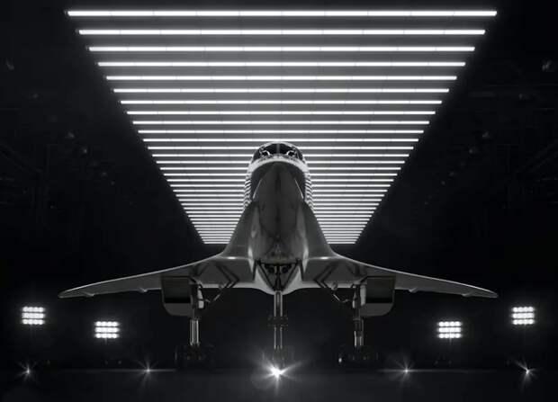 Первый сверхзвуковой пассажирский авиалайнер покажут через 85 дней