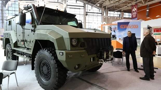 Российский армейский спецназ получит новый бронеавтомобиль