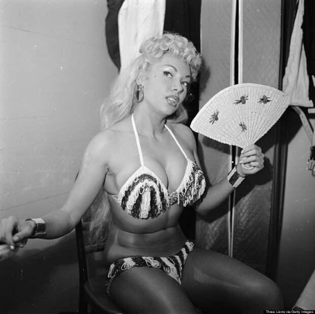 Закулисье танцовщиц 50-х годов. США