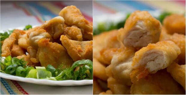 наггетсы из курицы в домашних условиях