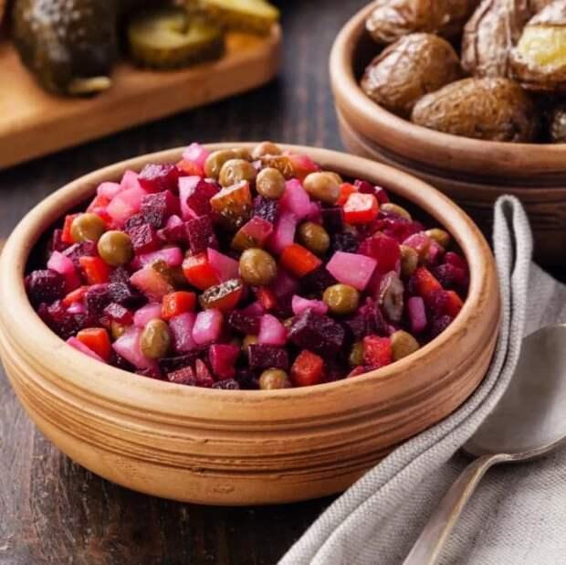 Винегрет: «Фи! Не грето!» или история об одном из самых популярных салатов