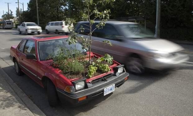 Автомобиль экологов авто, прикол, юмор