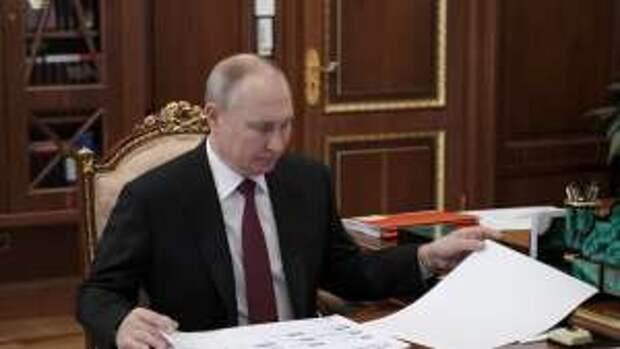 Путин стал кандидатом на получение Нобелевской премии мира