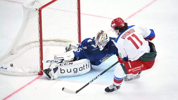 Сборная Финляндии обыграла команду России в матче Еврохоккейтура