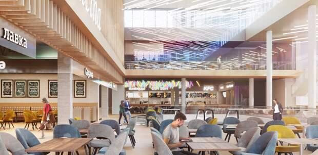 «Небесный» торговый центр построят в районе Солнцево