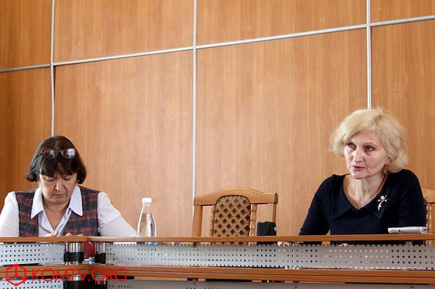 Первая пресс-конференция Главы муниципального образования городской округ Феодосия Анжелы Владимировны Сердюковой