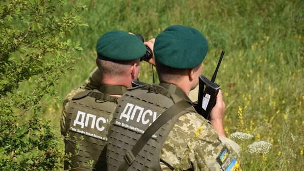 На украинских пограничников напали на границе с Россией