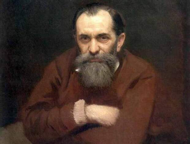 И. Крамской. Портрет В. Перова, 1881. Фрагмент | Фото: rusmuseumvrm.ru