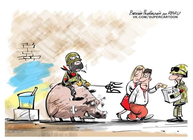 """""""Буксиры и десант с кукурузника"""". Чем Украина удивила НАТО"""