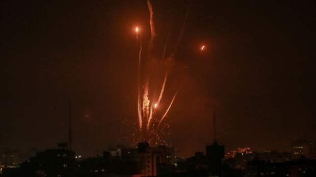 Боевое крыло ХАМАС за сутки выпустило более 120 ракет по Израилю