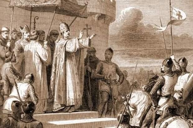 За папу! urban, крестоносцы, папа римский, походы, так хочет бог, христиане