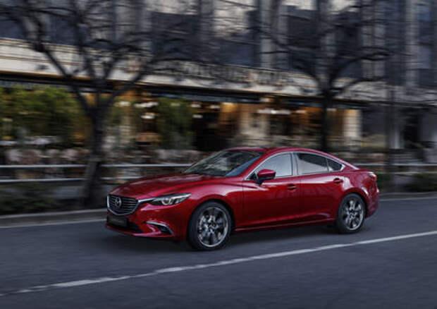Объявлена дата выхода обновленной Mazda 6
