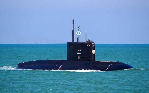 На кого отправился «охотиться» сразу весь подплав Черноморского флота