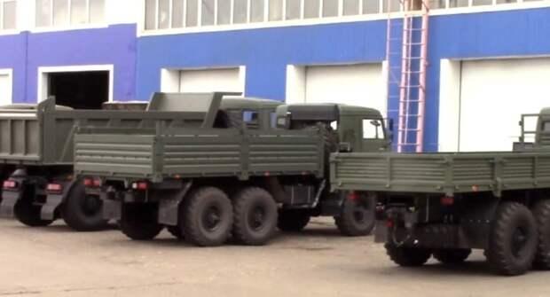 МВД задержало злоумышленников, продававших поддельные грузовики КамАЗ