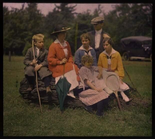 Автохром Люмьер — цветные фотографии начала XXвека