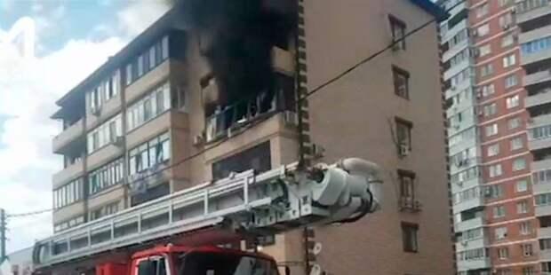 Взрыв в Краснодаре: есть жертвы