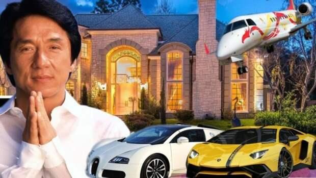 Как живет международная суперзвезда Джеки Чан и куда он тратит свои миллионы (Видео)