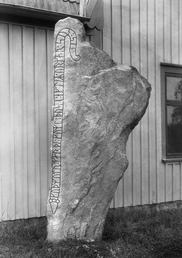 Древние надписи в Швеции