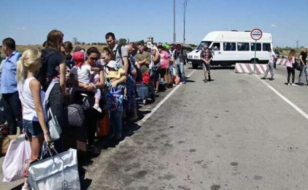 «Я такое видел!» — прорвавшись в Крым, украинец поделился впечатлениями