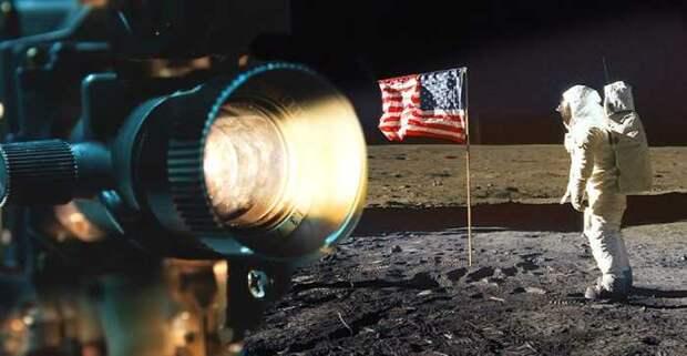 За несколько минут до того, как Армстронг сделал культовое фото Олдрина.