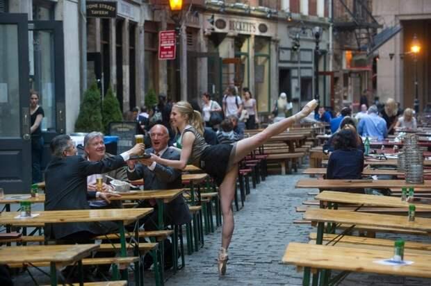 «Танцоры среди нас» от фотографа Джордана Мэттера (Jordan Matter), ч.1