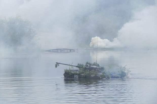 Учение войск НАТО. Преодоление рек России сродни самоубийству