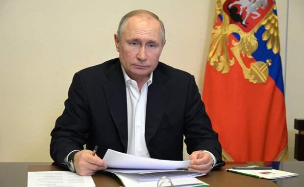 Владимир Путин оглашает послание Федеральному посланию. Текстовая трансляция