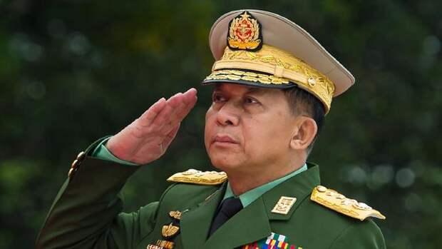 Военная хунта Мьянмы попросила денег у России
