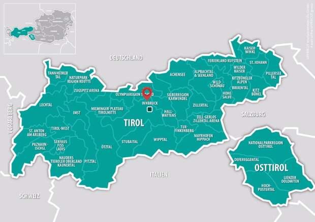 В Австрии есть сразу два Тироля