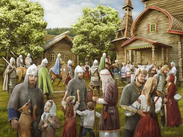Берендеи — воины и хранители традиции