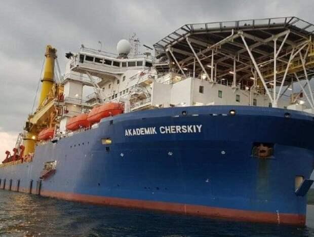 Российские военные корабли взяли под охрану «Северный поток - 2»