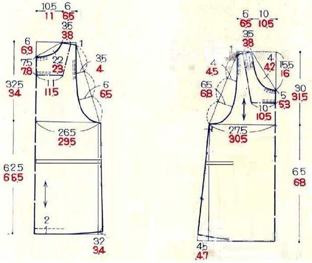 Выкройка стильного сарафана для беременных в минималистичном стиле