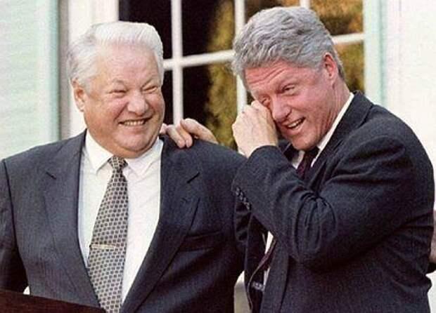 Ельцин, Клинтон(2014)|Фото: