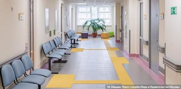 Собянин рассказал о программе реконструкции московских поликлиник.Фото: М. Мишин mos.ru