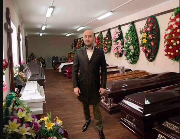 Сумасшедший Бабченко неоставляет надежды въехать вКремль на«Абрамсе»