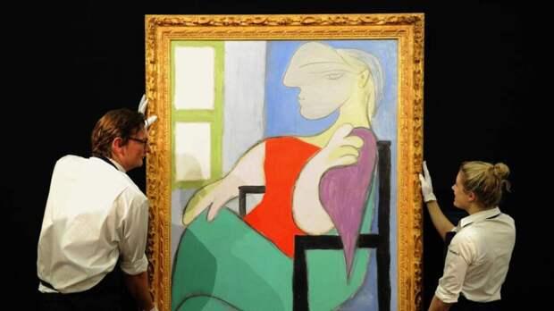 Картину Пикассо продали на аукционе за 103 миллиона долларов