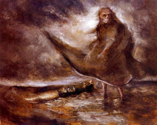Дух воды картина, художник
