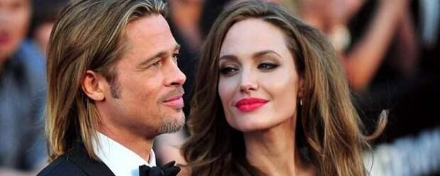 Обвинения Анджелины Джоли в домашнем насилии огорчили Брэда Питта
