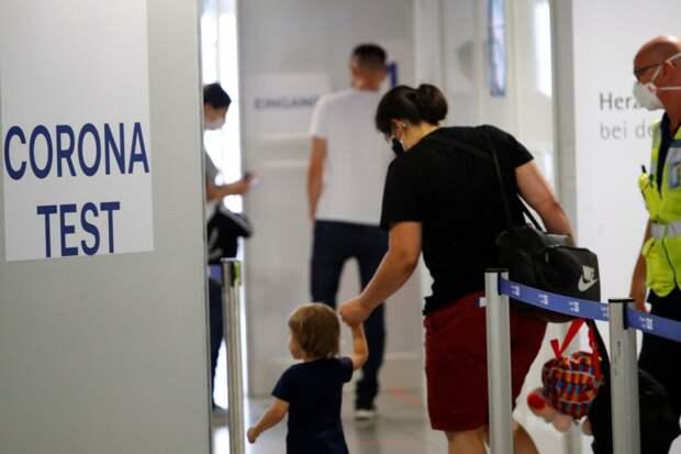 Германия введет обязательные бесплатные тесты на коронавирус для путешественников из зон риска