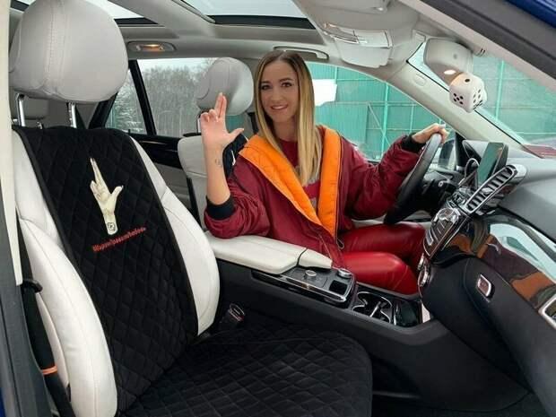 Женщины за рулем - на каких машинах ездят звезды шоу бизнеса