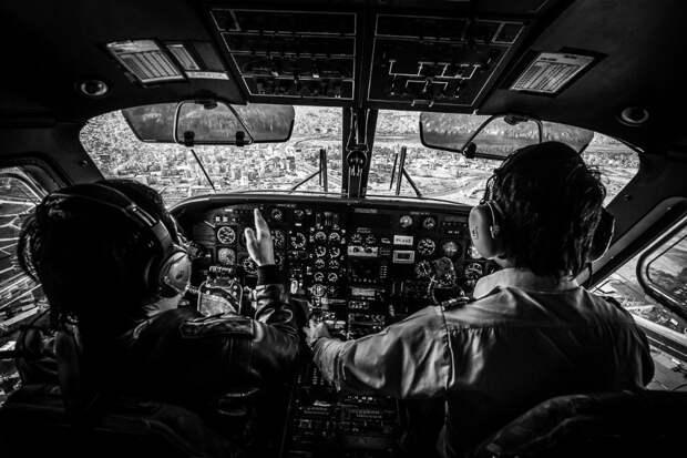 fromcockpit22 25 фотографий, сделанных пилотами из кабин самолетов